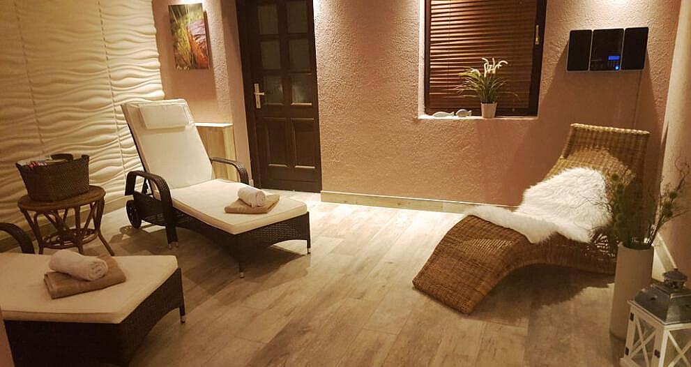 Sauna Innenbereich - Entspannungsurlaub Ostsee | Hotel Osteeland