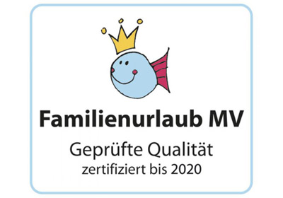 Logo Gustav - Qualitätssiegel Familienurlaub MV