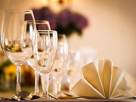 Restaurant Diedrich's Tischdeko